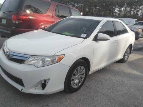 2014 Toyota Camry for sale at Don Auto World in Houston TX