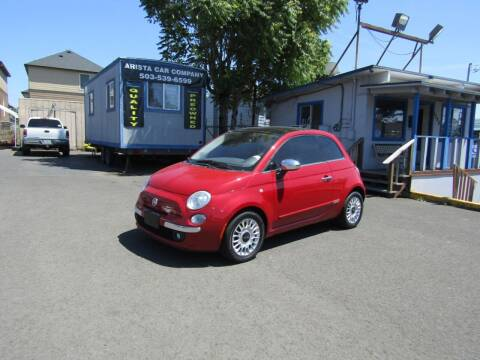 2012 FIAT 500 for sale at ARISTA CAR COMPANY LLC in Portland OR