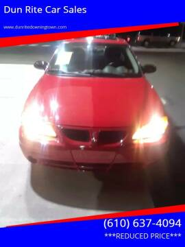 2004 Pontiac Grand Am for sale at Dun Rite Car Sales in Downingtown PA
