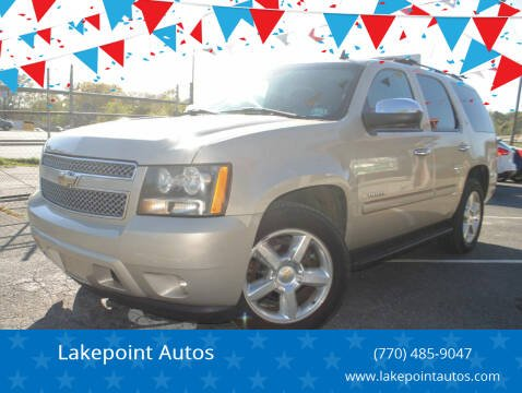 2007 Chevrolet Tahoe for sale at Lakepoint Autos in Cartersville GA