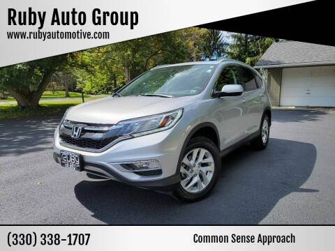 2016 Honda CR-V for sale at Ruby Auto Group in Hudson OH