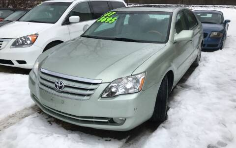 2007 Toyota Avalon for sale at Richard C Peck Auto Sales in Wellsville NY