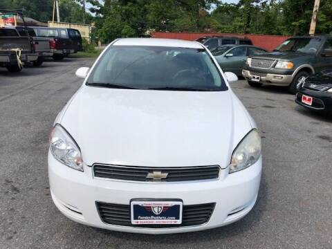 2010 Chevrolet Impala for sale at Fuentes Brothers Auto Sales in Jessup MD