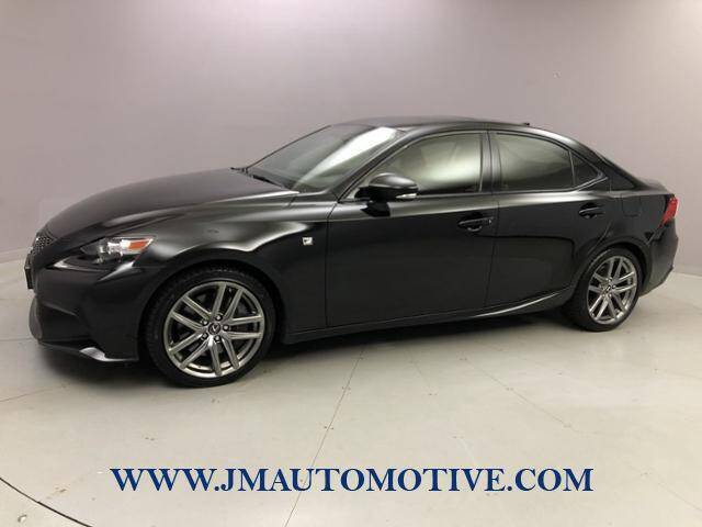 2014 Lexus IS 350 for sale at J & M Automotive in Naugatuck CT