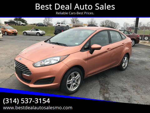 2017 Ford Fiesta for sale at Best Deal Auto Sales in Saint Charles MO