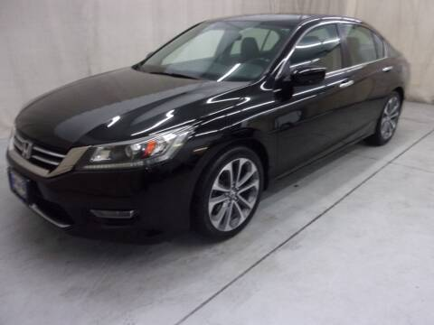 2013 Honda Accord for sale at Paquet Auto Sales in Madison OH
