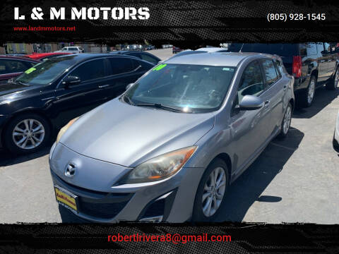 2010 Mazda MAZDA3 for sale at L & M MOTORS in Santa Maria CA