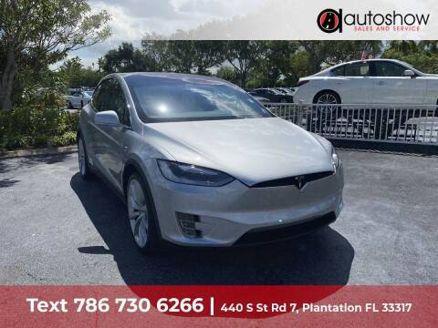 2017 Tesla Model X for sale at AUTOSHOW SALES & SERVICE in Plantation FL