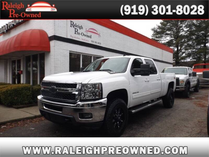 2011 Chevrolet Silverado 2500HD for sale at Raleigh Pre-Owned in Raleigh NC