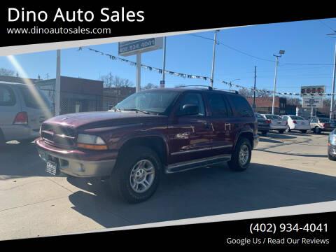 2001 Dodge Durango for sale at Dino Auto Sales in Omaha NE