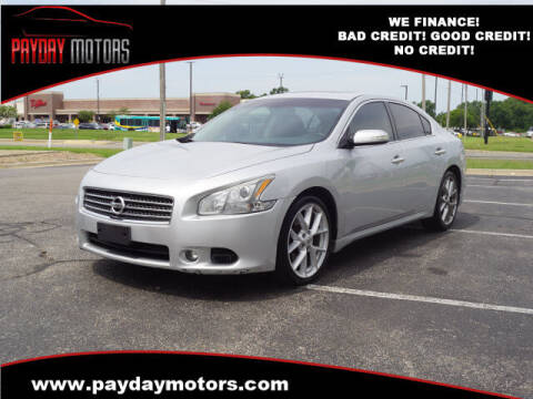 2010 Nissan Maxima for sale at Payday Motors in Wichita KS