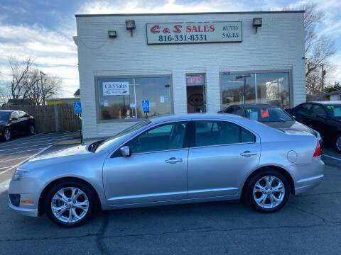 2012 Ford Fusion for sale at C & S SALES in Belton MO