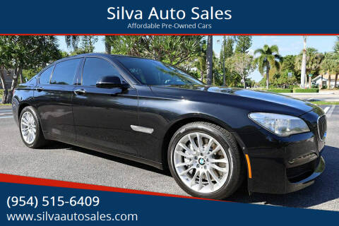 2013 BMW 7 Series for sale at Silva Auto Sales in Pompano Beach FL