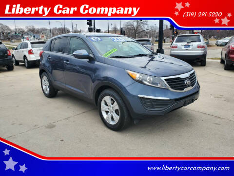 2013 Kia Sportage for sale at Liberty Car Company in Waterloo IA