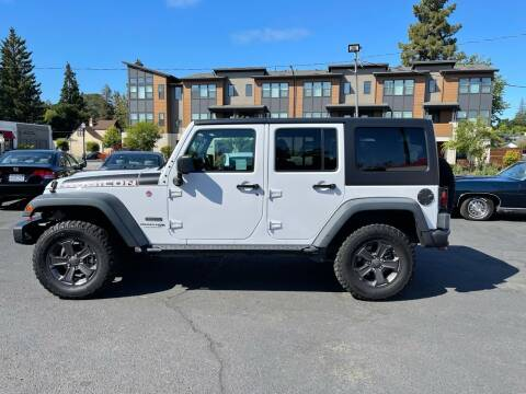 2018 Jeep Wrangler JK Unlimited for sale at Redwood City Auto Sales in Redwood City CA