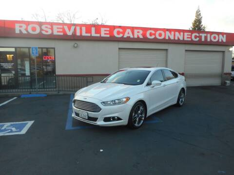 2014 Ford Fusion for sale at ROSEVILLE CAR CONNECTION in Roseville CA