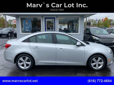 2013 Chevrolet Cruze for sale at Marv`s Car Lot Inc. in Zeeland MI