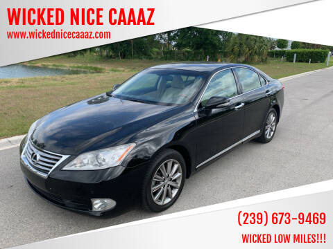 2010 Lexus ES 350 for sale at WICKED NICE CAAAZ in Cape Coral FL
