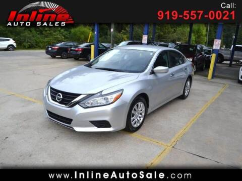 2018 Nissan Altima for sale at Inline Auto Sales in Fuquay Varina NC