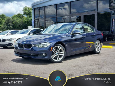2016 BMW 3 Series for sale at Automaxx in Tampa FL