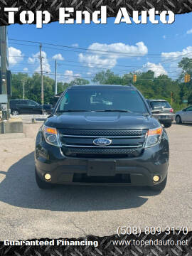 2011 Ford Explorer for sale at Top End Auto in North Attleboro MA