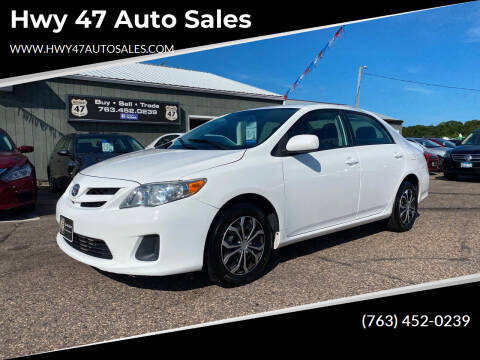 2011 Toyota Corolla for sale at Hwy 47 Auto Sales in Saint Francis MN