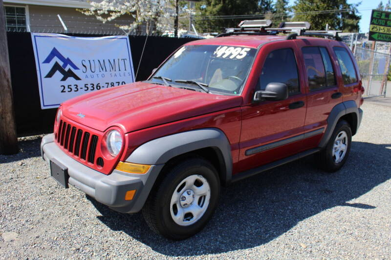 2006 Jeep Liberty for sale at Summit Auto Sales in Puyallup WA