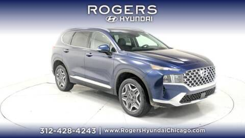 2021 Hyundai Santa Fe for sale at ROGERS  AUTO  GROUP in Chicago IL