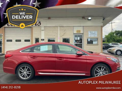 2017 Hyundai Sonata for sale at Autoplexmkewi in Milwaukee WI