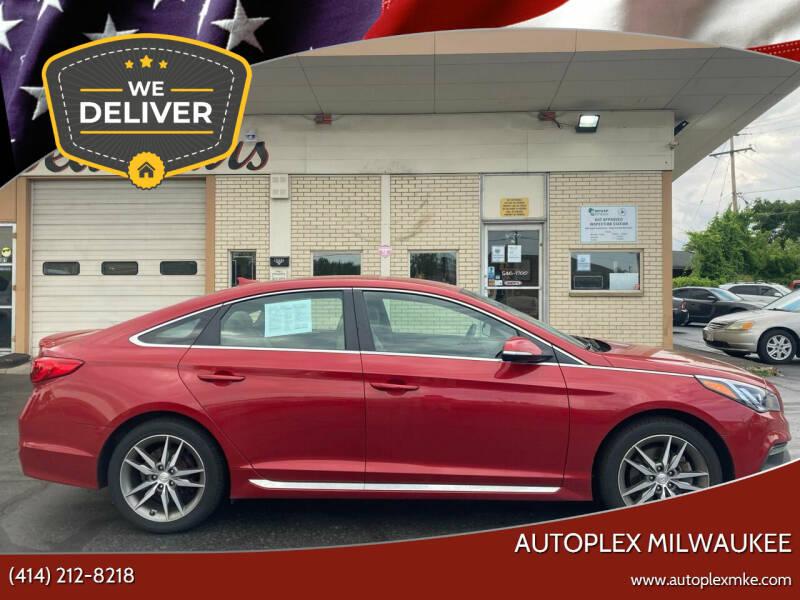 2017 Hyundai Sonata for sale at Autoplex MKE in Milwaukee WI