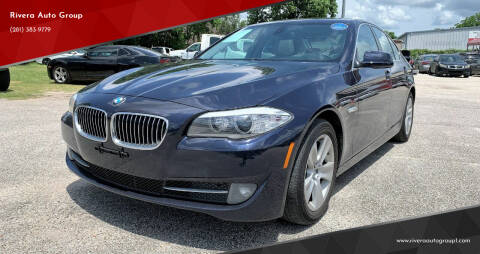 2011 BMW 5 Series for sale at Rivera Auto Group in Spring TX