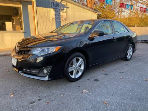 2013 Toyota Camry for sale at Elite Auto Sales Inc in Front Royal VA