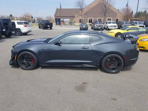 2019 Chevrolet Camaro for sale at ROSSTEN AUTO SALES in Grand Forks ND