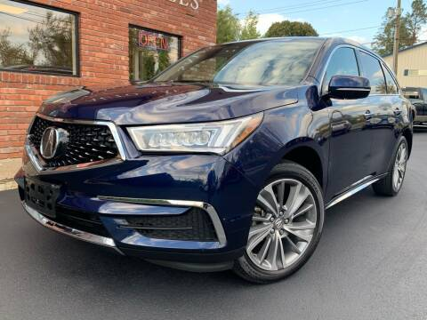 2017 Acura MDX for sale at Elmwood D+J Auto Sales in Agawam MA
