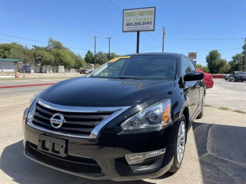 2013 Nissan Altima for sale at Shock Motors in Garland TX