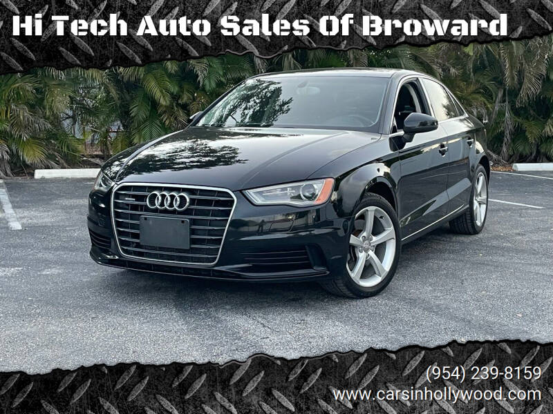 2015 Audi A3 for sale at Hi Tech Auto Sales Of Broward in Hollywood FL