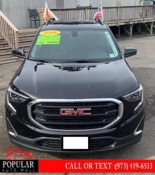 2019 GMC Terrain for sale at Popular Auto Mall Inc in Newark NJ