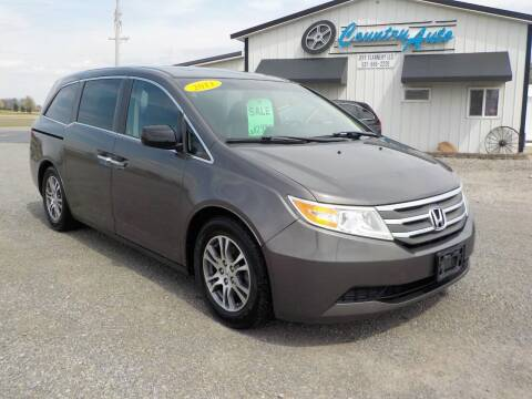 2011 Honda Odyssey for sale at Country Auto in Huntsville OH