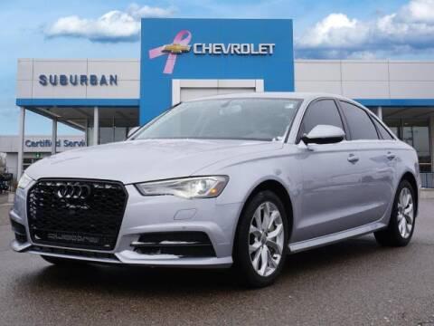 2018 Audi A6 for sale at Suburban Chevrolet of Ann Arbor in Ann Arbor MI