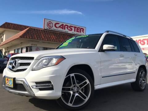 2014 Mercedes-Benz GLK for sale at CARSTER in Huntington Beach CA