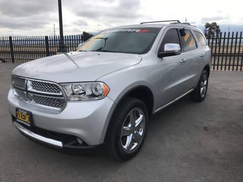 2012 Dodge Durango for sale at Soledad Auto Sales in Soledad CA