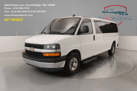 2019 Chevrolet Express Passenger for sale at Elvis Auto Sales LLC in Grand Rapids MI