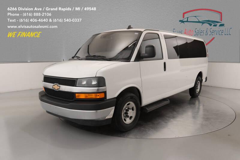 2019 Chevrolet Express Passenger for sale at Elvis Auto Sales LLC in Grand Rapids MI
