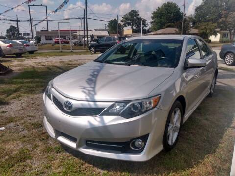 2012 Toyota Camry for sale at East Carolina Auto Exchange in Greenville NC