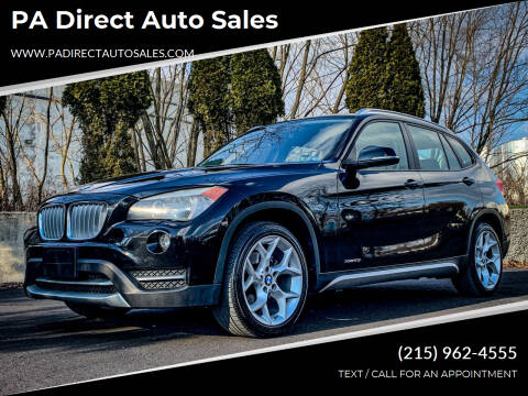 2014 BMW X1 for sale at PA Direct Auto Sales in Levittown PA