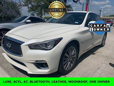 2019 Infiniti Q50 for sale at Nissan of Boerne in Boerne TX