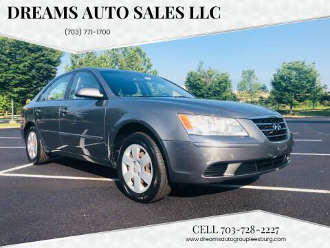 2010 Hyundai Sonata for sale at Dreams Auto Sales LLC in Leesburg VA