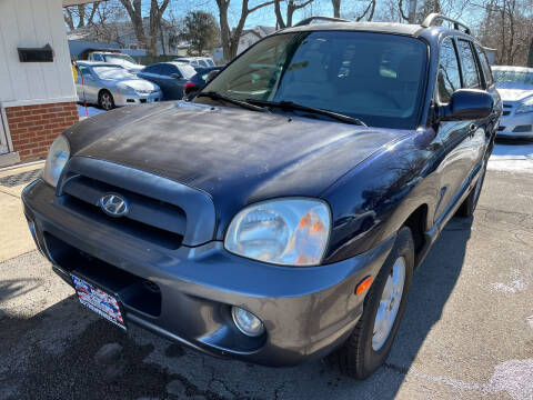 2005 Hyundai Santa Fe for sale at New Wheels in Glendale Heights IL