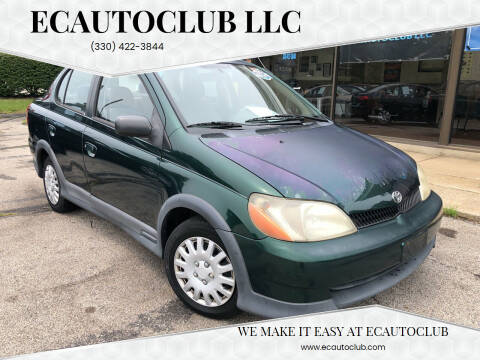 2000 Toyota ECHO for sale at ECAUTOCLUB LLC in Kent OH