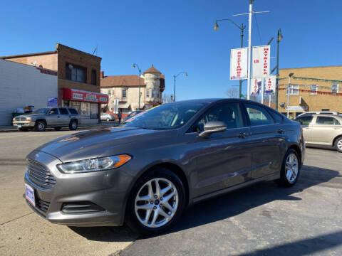 2013 Ford Fusion for sale at Latino Motors in Aurora IL